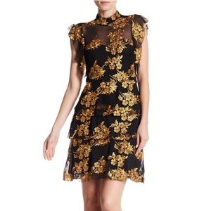 NWT Romeo and Juliet Couture Embroidered Dress, S